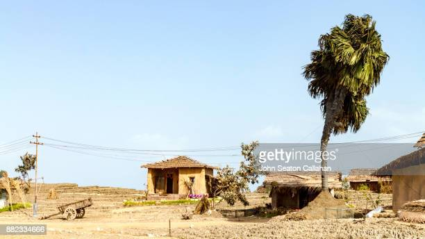 film set architecture on diu island - village stock pictures, royalty-free photos & images