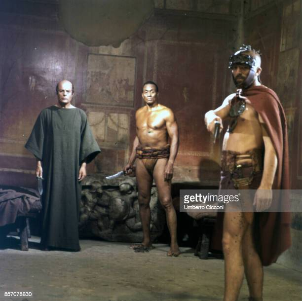 Film set of 'Scipione detto anche l'Africano' film directed by Luigi Magni