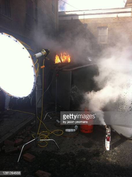 film set special effects - film set stock pictures, royalty-free photos & images
