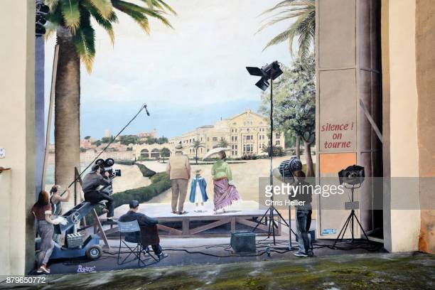 Film Set Wall Painting or Mural Cannes