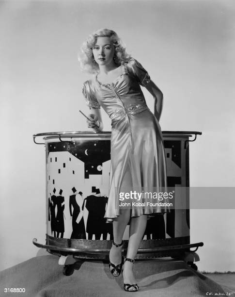 Film star Gloria Grahame in a promotional still for the 1947 filmnoir classic 'Crossfire'