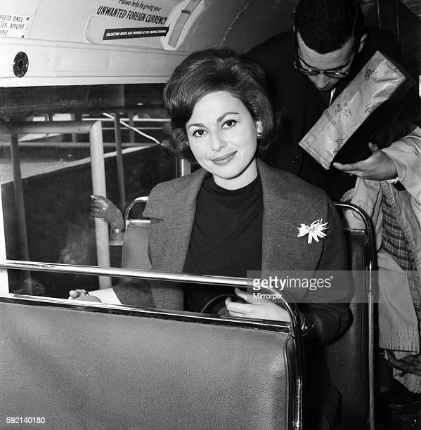 Film star Haya Harareet actress June 1960 M4247002