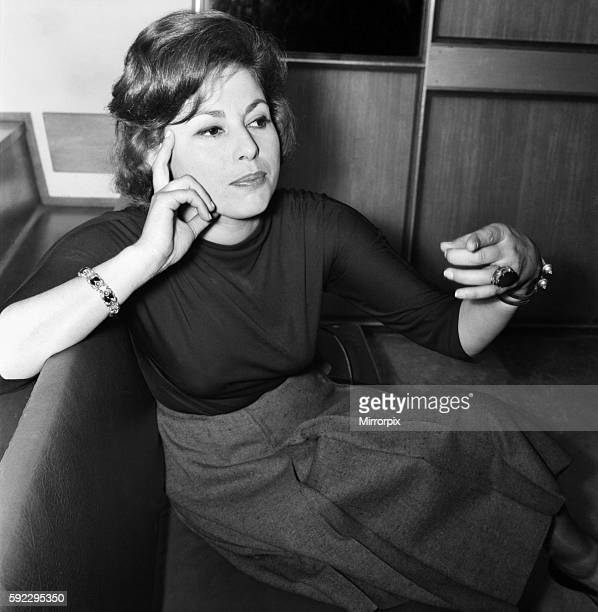 Film star Haya Harareet actress June 1960 M4247005