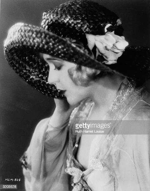 Film star Mae Murray also known as 'The Gardenia of The Screen'