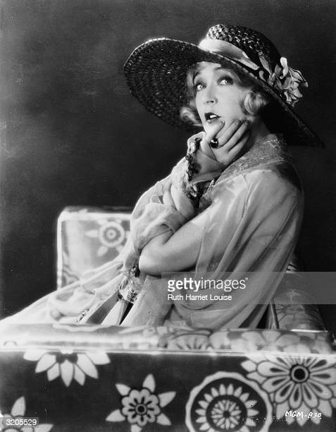 Film star Mae Murray