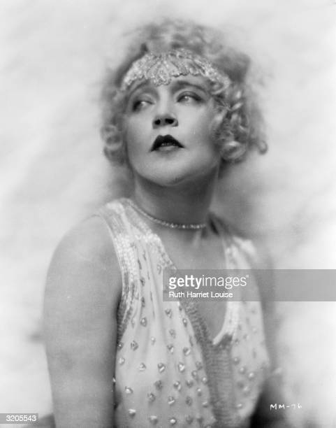Film star Mae Murray She was known as 'The Girl With The BeeStung Lips'