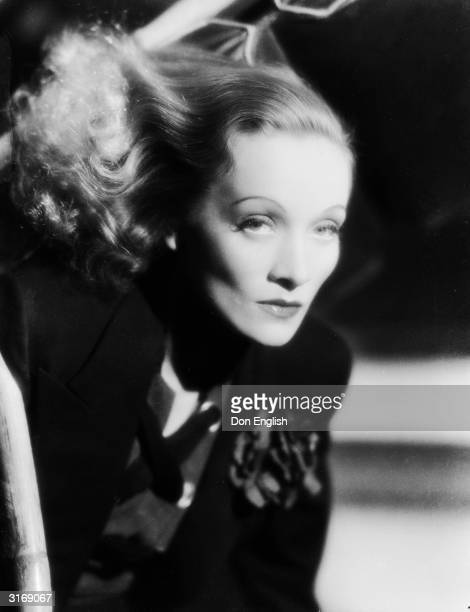 Film star Marlene Dietrich as she appears in the film 'Angel', directed by Ernst Lubitsch for Paramount.