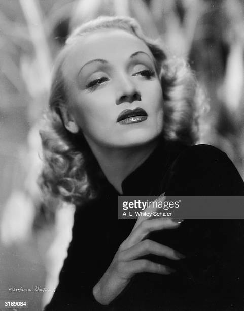 Film star Marlene Dietrich