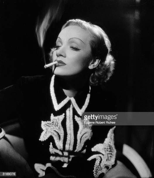 Film star Marlene Dietrich stars in the film 'Angel' directed by Ernst Lubitsch with costumes by Travis Banton