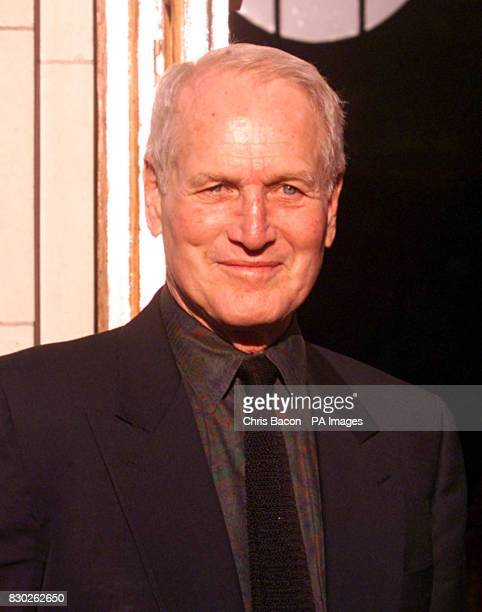 Film star Paul Newman looks relaxed as he emerges from a 30-minute meeting with Bertie Ahern at Government Buildings in Dublin. Mr Newman had also...