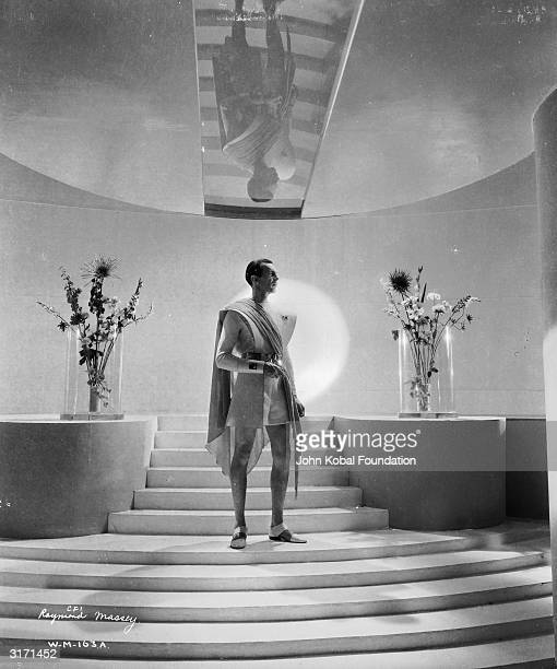 Film star Raymond Massey as John Cabal/Oswald Cabal in 'Things to Come' Directed by William Cameron Menzies for London Films
