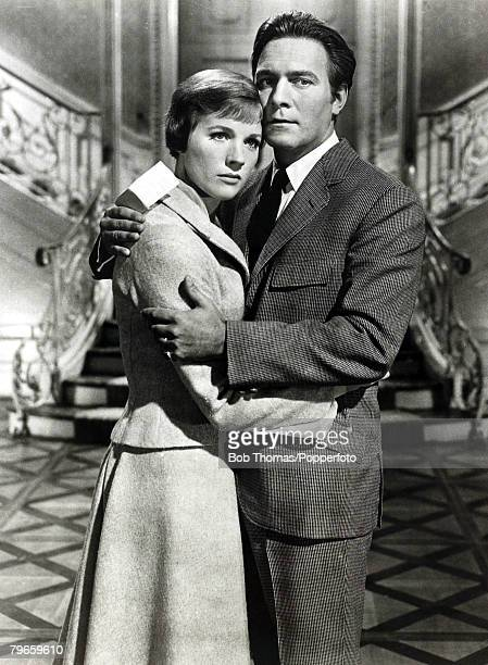1965 Film Still from The Sound of Music starring Julie Andrews and Christopher Plummer