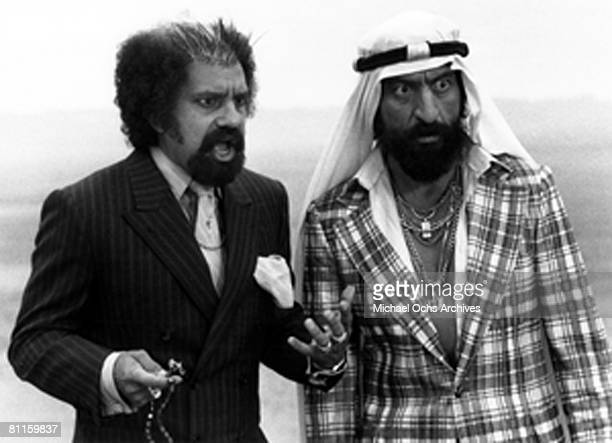 Film still of Cheech Marin and Tommy Chong from 'Things Are Tough All Over' which was released 1982