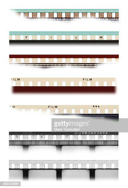 film strips - divergent film stock photos and pictures