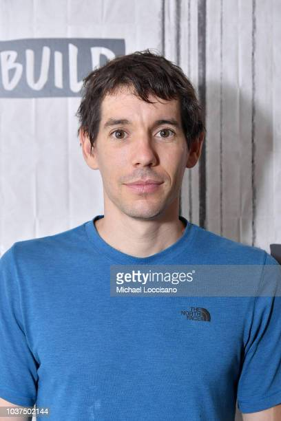 Film subject Alex Honnold visits Build to discuss the documentary 'Free Solo' at Build Studio on September 21 2018 in New York City