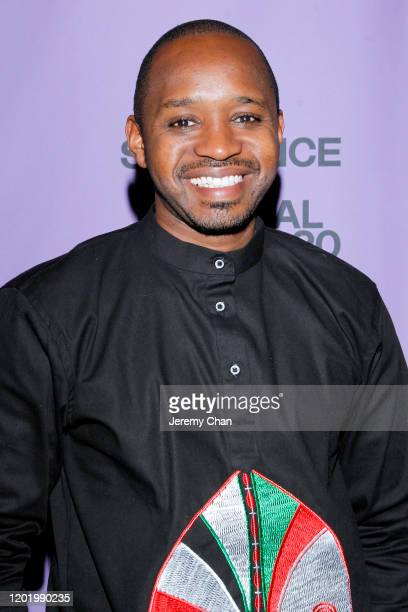 Film subject Boniface Mwangi attends the 2020 Sundance Film Festival Softie Premiere at Park Avenue Screening Room on January 25 2020 in New York City