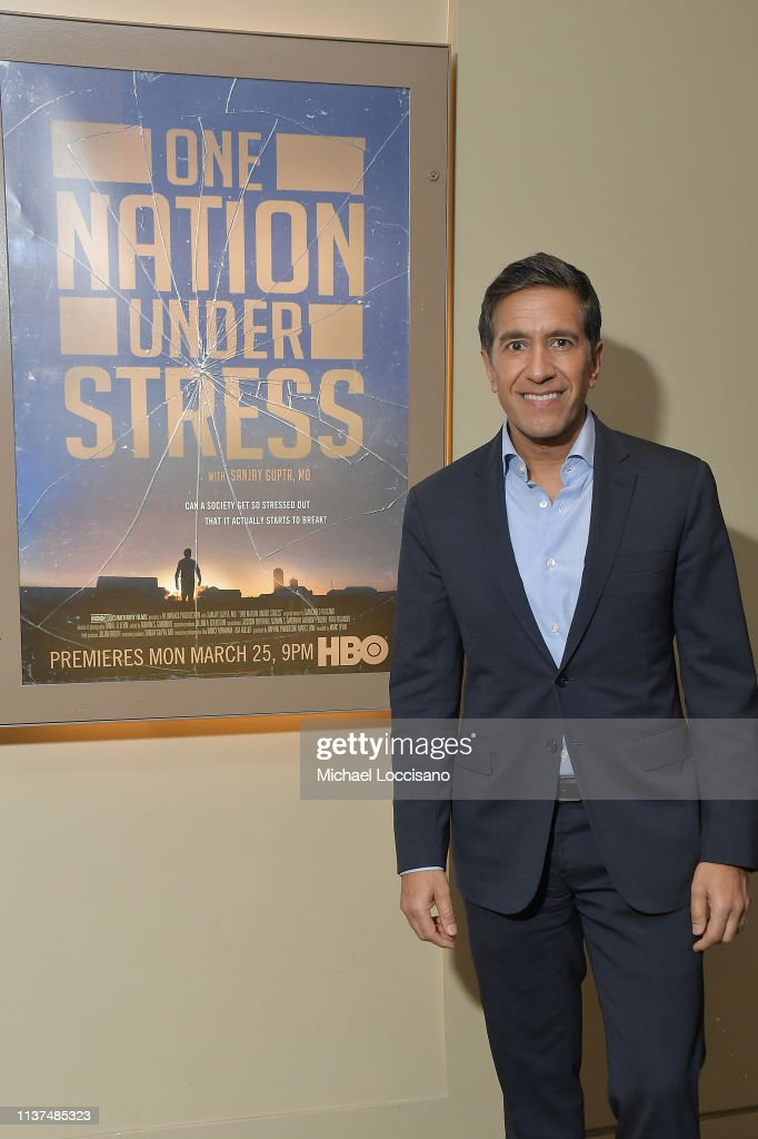 "NY: HBO Documentary Film ""One Nation Under Stress"" Special Screening"