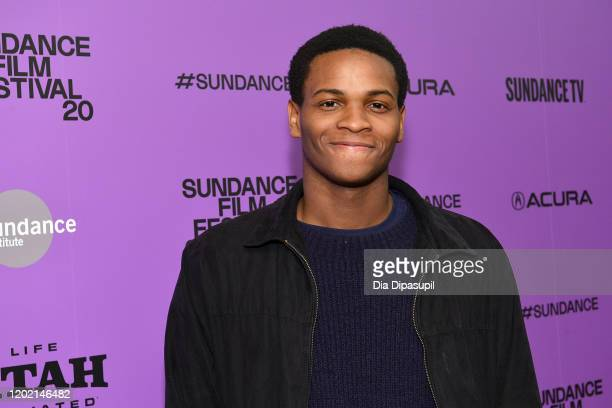 Film subject Freedom Martin at 2020 Sundance Film Festival Giving Voice Premiere at Egyptian Theatre on January 26 2020 in Park City Utah