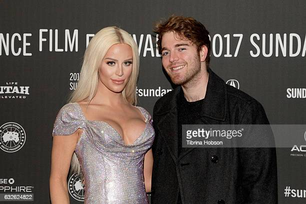 Film subject Gigi 'Gorgeous' Lazzarato and Shane Dawson attend This Is Everything Gigi Gorgeous Premiere on day 6 of the 2017 Sundance Film Festival...