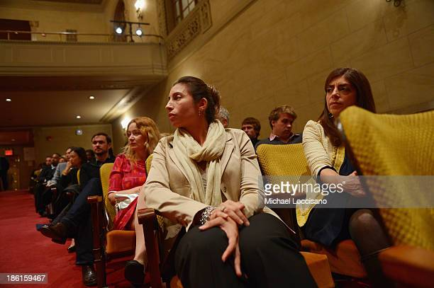 Film subject Mary Jo Vradis and SVP of HBO Documentary Films Nancy Abraham attend a special screening of HBO's Tales From the Organ Trade at The New...