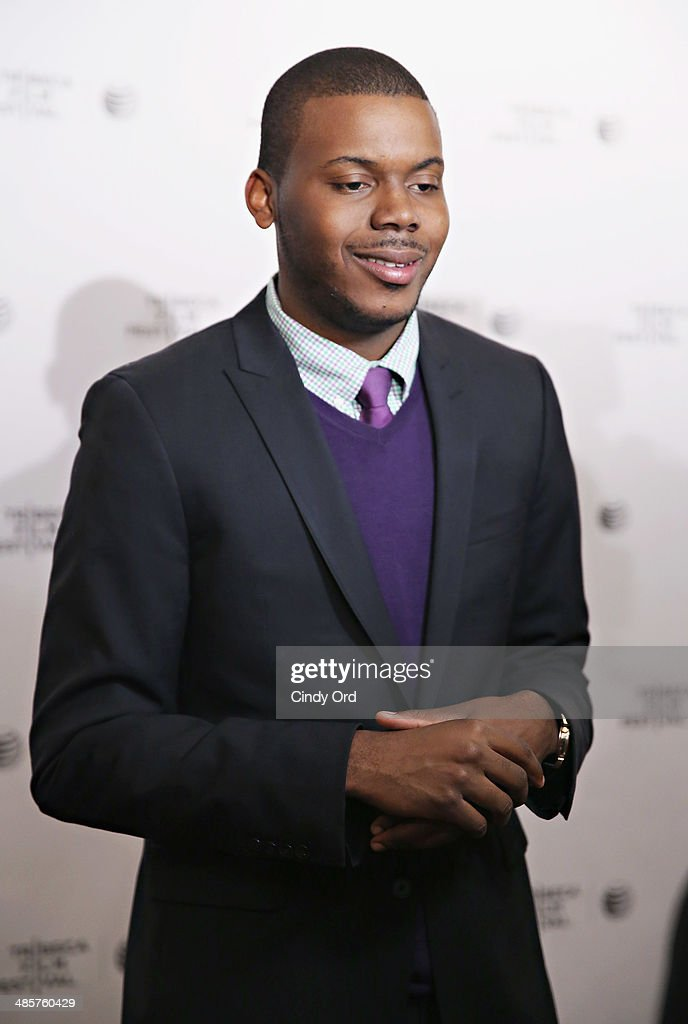 Film subject Michael Tubbs attends the 'True Son' Premiere - 2014 Tribeca Film Festival at Chelsea Bow Tie Cinemas on April 20, 2014 in New York City.