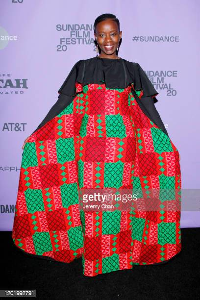 Film subject Njeri Mwangi attends the 2020 Sundance Film Festival Softie Premiere at Park Avenue Screening Room on January 25 2020 in New York City