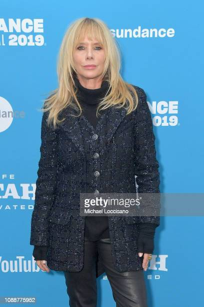 Film Subject Rosanna Arquette attends the Untouchable Premiere during the 2019 Sundance Film Festival at The Marc Theatre on January 25 2019 in Park...