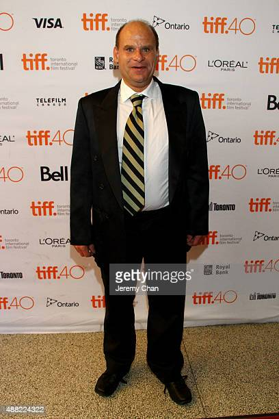 Film subject Steve Fonyo attends the HURT photo call during the 2015 Toronto International Film Festival at The Elgin on September 14 2015 in Toronto...