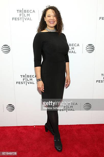 Film subject Susan Champion attends the The Return Premiere 2016 Tribeca Film Festival at Regal Battery Park Cinemas on April 17 2016 in New York City