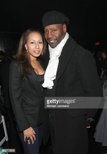 Film subject Tamara Tunie and husband Gregory Generet attend the HBO Documentary Screening of The Black List Vol 2 at The Apollo Theater on February...