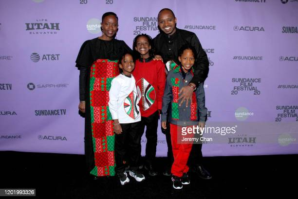 Film subjects Njeri Mwangi Jabali Mboya Mwangi Nate Siphiwe Mwangi Boniface Mwangi and Naila Sifa Mwangi attend the 2020 Sundance Film Festival...