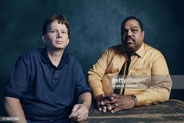 Film subjects Scott Shephard and Daryl Davis of 'Accidental Courtesy Daryl Davis Race America' are photographed in the Getty Images SXSW Portrait...
