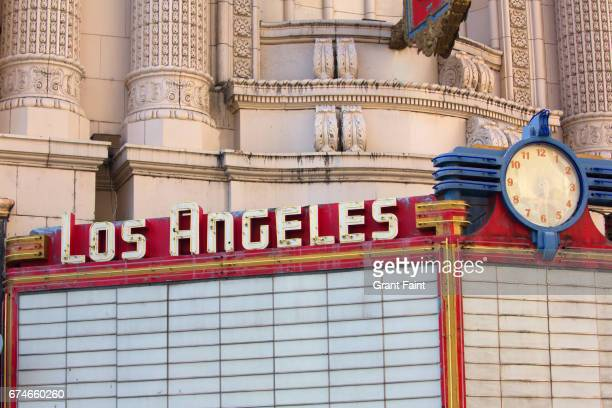 Film theatre sign.