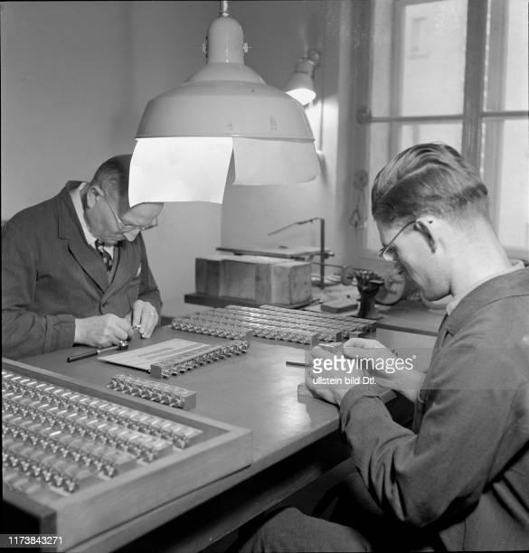 Film title workshop Diagram AG for subtitles Zurich 1945