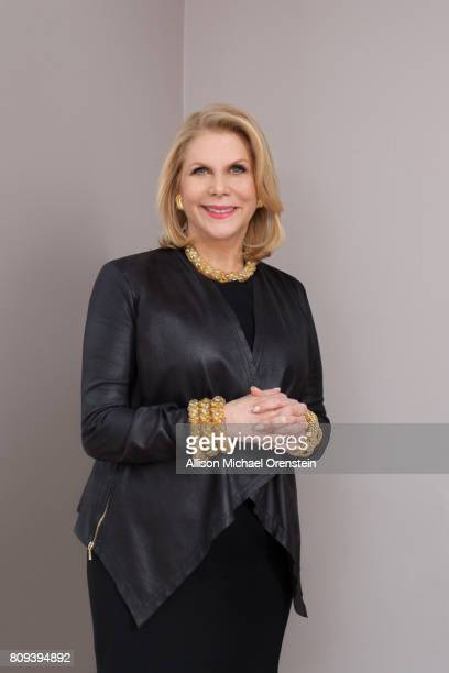 Film TV and theater producer Francine LeFrak is photographed for Capital Acumen Magazine on March 10 2015 in New York City PUBLISHED IMAGE