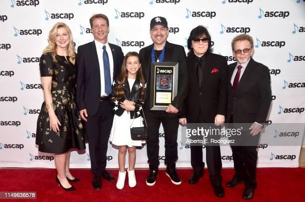 Film & TV Music / New Media Shawn Lemone, ASCAP CEO Elizabeth Matthews, Composer Marc Fantini, winner of the award for Top Network Television Series...