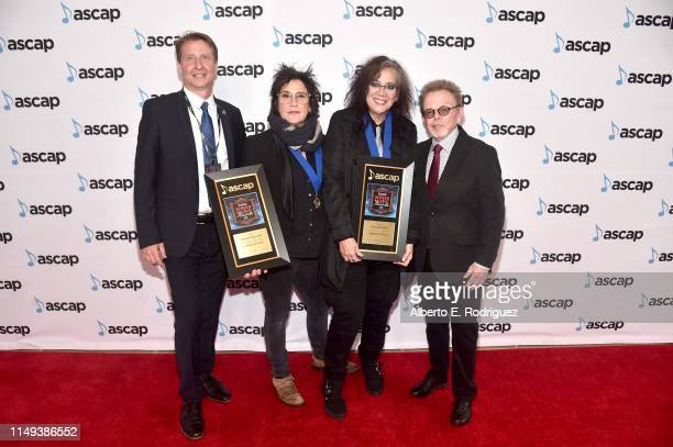 ASCAP SVP Film TV Music / New Media Shawn Lemone Composers Wendy Melvoin and Lisa Coleman winners of the award for Top Network Television Series for...