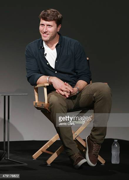 Filmaker Matthew Heineman attends Meet The Filmmaker Cartel Land at Apple Store Soho on July 1 2015 in New York City
