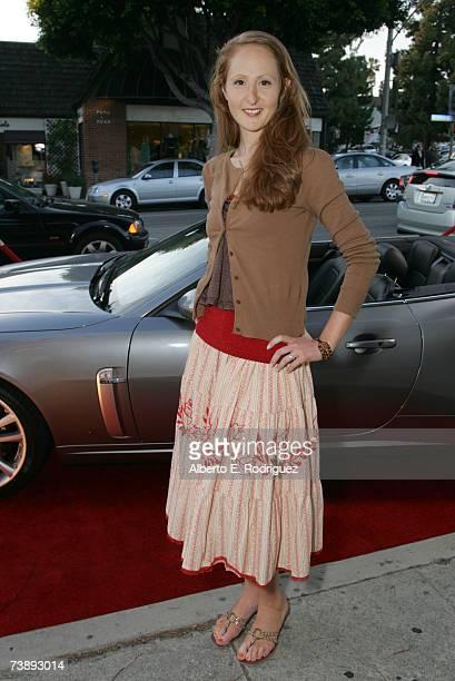 Filmaker Monica Lederman attends the opening night of the Malibu Film Festival on April 13 2007 in Los Angeles California