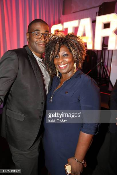 Filmakers Sudz Sutherland and Jennifer Holness attend The B.L.A.C.K Ball during the 2019 Toronto International Film Festival at TIFF Bell Lightbox on...