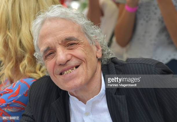 S Filmdirector Abel Ferrara attends the FFF reception during the Munich Film Festival 2018 at Praterinsel on July 5 2018 in Munich Germany