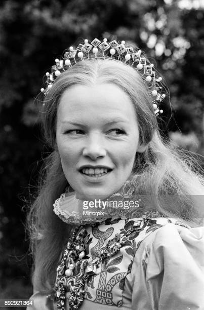 Filming 'Mary Queen of Scots' began at Shepperton Studios Glenda Jackson plays Elizabeth I of England 13th May 1971