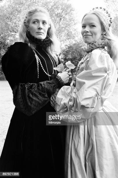 Filming 'Mary Queen of Scots' began at Shepperton Studios Glenda Jackson plays Elizabeth I of England and Vanessa Redgrave is Mary Queen of Scots...