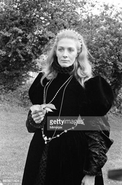 Filming 'Mary Queen of Scots' began at Shepperton Studios Vanessa Redgrave plays the title role 13th May 1971
