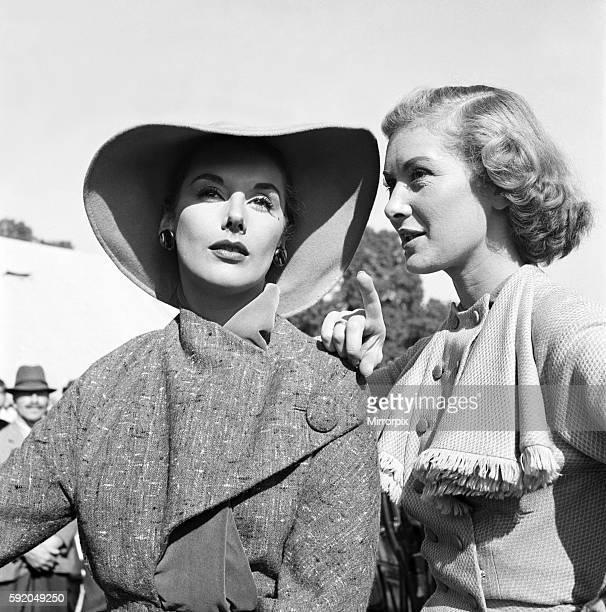 Filming of Genevieve Kay Kendell and Dinah Sheridan September 1952 C4674005