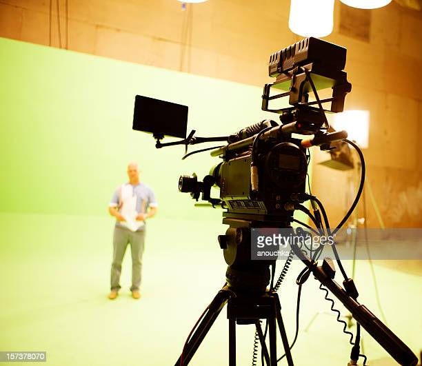 filming on chromakey - performing arts event stock pictures, royalty-free photos & images