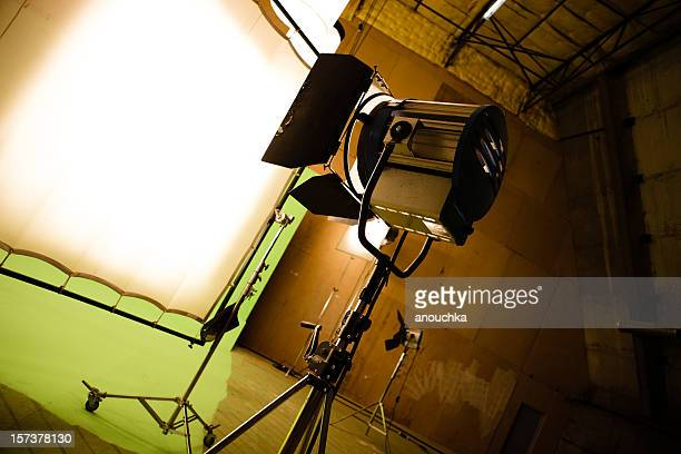Filming on chromakey