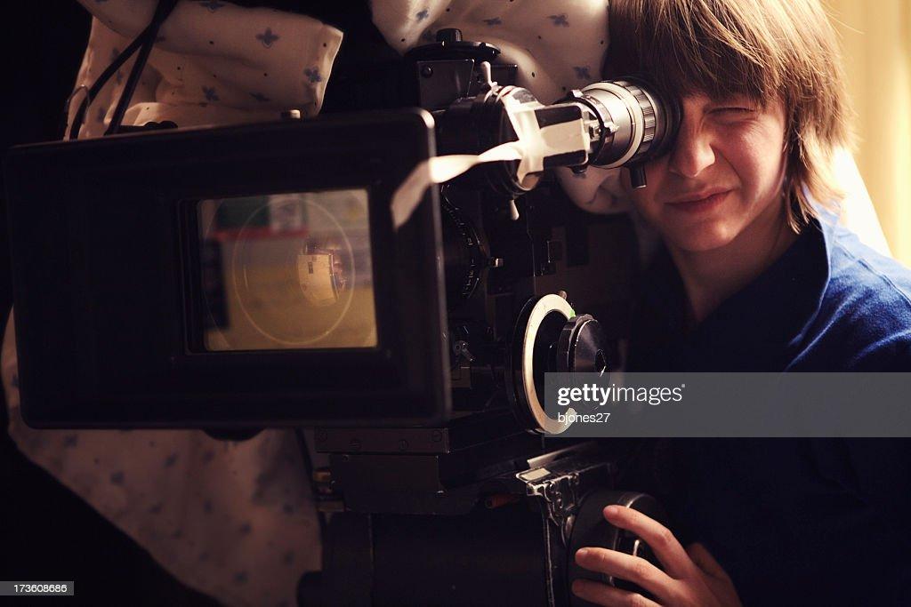 Filming : Stock Photo