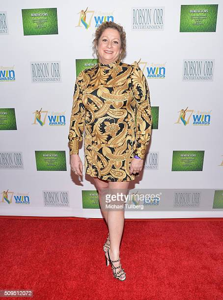Filmmaker Abigail Disney attends the 17th Annual Women's Image Awards at Royce Hall UCLA on February 10 2016 in Westwood California