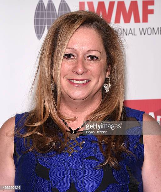 Filmmaker Abigail Disney attends the International Women's Media Foundation's 2015 Courage in Journalism Awards on October 21 2015 in New York City